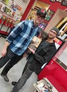 Mark Roslan and letterer Zen