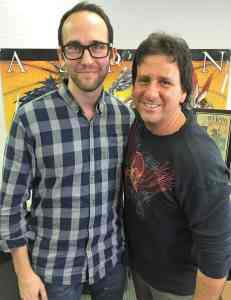 Mark Roslan with Michael Valentine