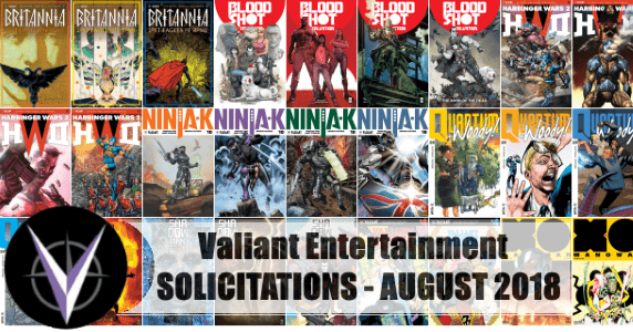 Valiant Solicits August 2018