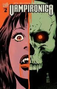 Vampironica #2 - Variant Cover by Francesco Francavilla