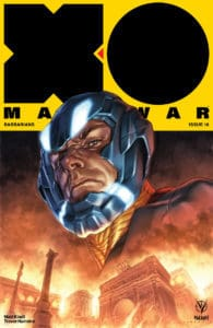 X-O MANOWAR (2017) #18 - Cover A by Lewis LaRosa