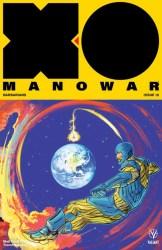X-O MANOWAR (2017) #18 - Interlocking Variant by Veronica Fish