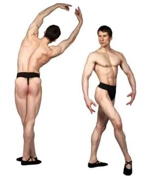 Mens Thong Dance Belt