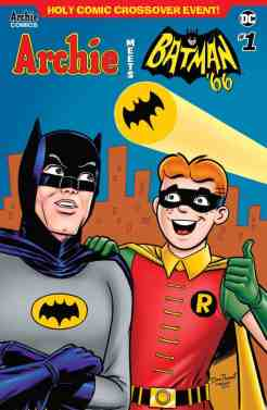 ARCHIE MEETS BATMAN '66 #1 - Variant Cover by Dan Parent