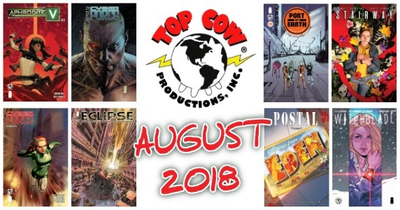 August 2018 Solicits - Top Cow