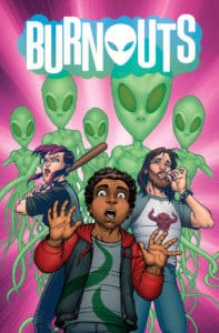 BURNOUTS #1 cover