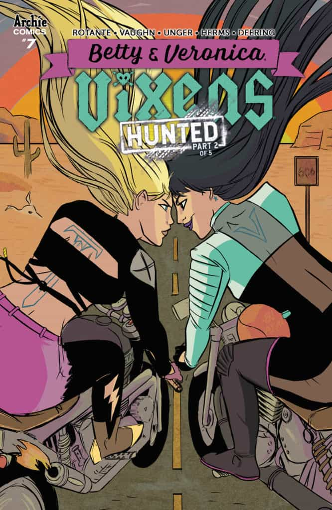 BETTY & VERONICA: VIXENS #7 - Main Cover by Jen Vaughn