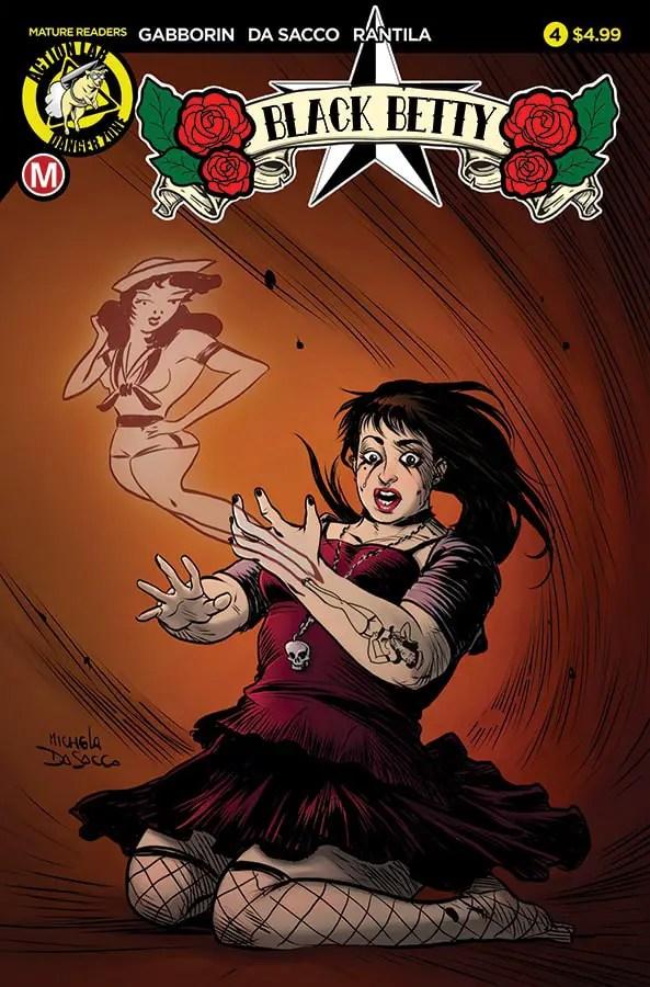 Black Betty #4 Cover A Da Sacco
