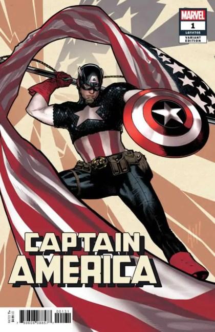 Captain America #1 - Variant Cover by Adam Hughes