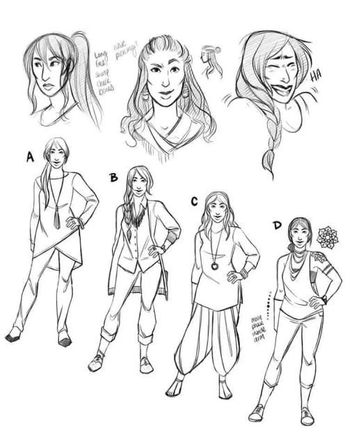 Character Design - Jaya Rai