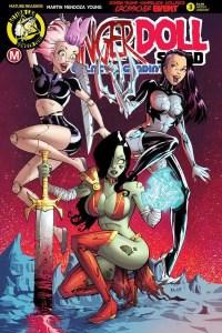 Danger Doll Squad Volume 2 #3 Cover C