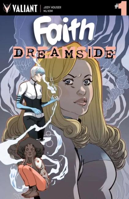 FAITH: DREAMSIDE #1 – Cover A by Marguerite Sauvage