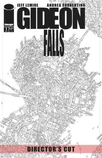 GIDEON FALLS #1 DIRECTOR'S CUT cover