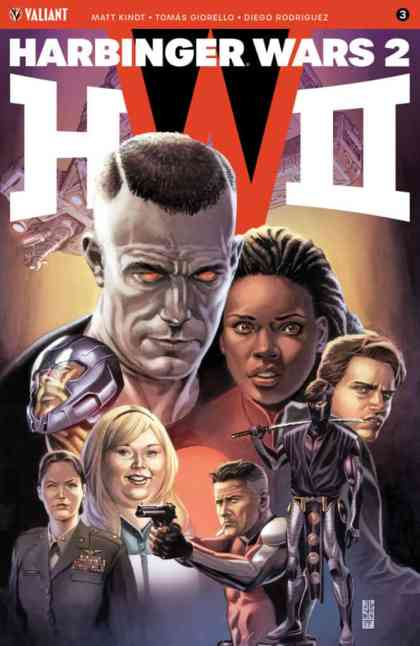 HARBINGER WARS 2 #3 (of 4) – Cover A by J.G. Jones