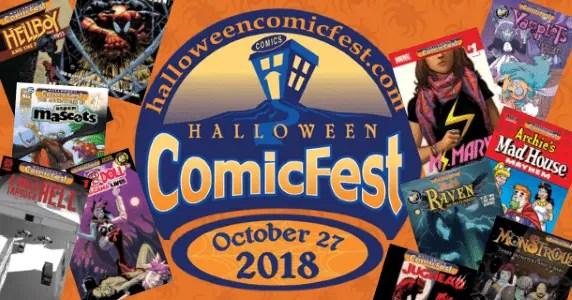 comic book news halloween comicfest 2018 comics announced popculthq