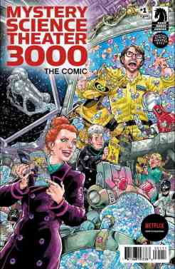 Mystery Science Theater 3000, The Comic #1 main cover