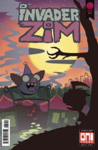 Invader ZIM #31 - Cover A by KC Green