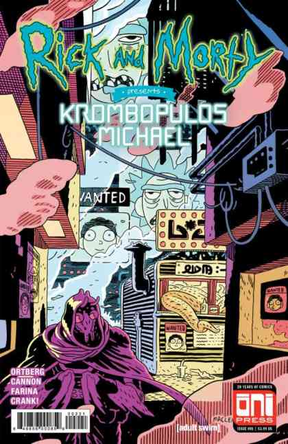 Rick and Morty Presents: Krombopulos Michael #1 Variant Cover by Andrew MacLean
