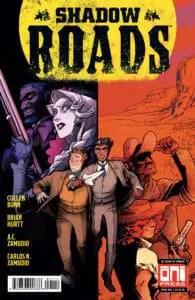 Shadow Roads #1 - Main Cover by A.C. Zamudio & Carlos Zamudio