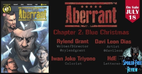 [Comic Book Review] Action Lab: Danger Zone's ABERRANT #2