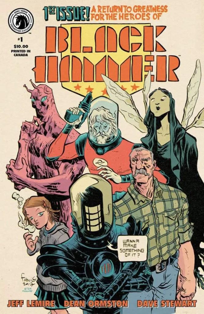 Black Hammer #1 Convention Exclusive (Fábio Moon)