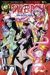 Danger Doll Squad Volume 2 #4 - Cover C by Marcelo Trom