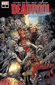 Deadpool: Assassin #4 - Main Cover by Mark Bagley