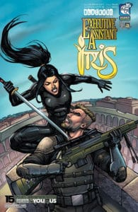 Executive Assistant: Iris Vol. 5 #3 - Cover B by Keu Cha