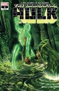 Immortal Hulk #2 - Main Cover by Alex Ross