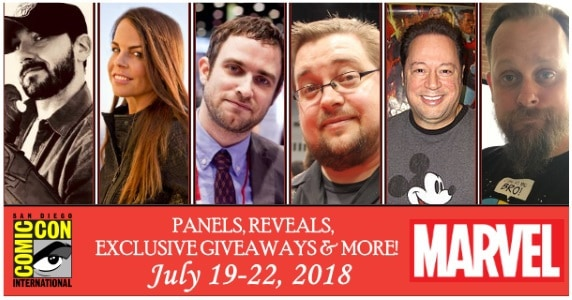 Marvel Panels at SDCC