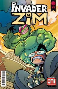 Invader ZIM #32 - Cover A