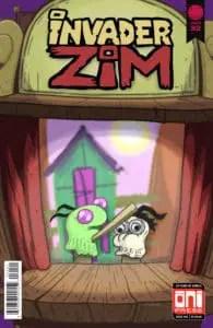 Invader ZIM #32 - Cover B