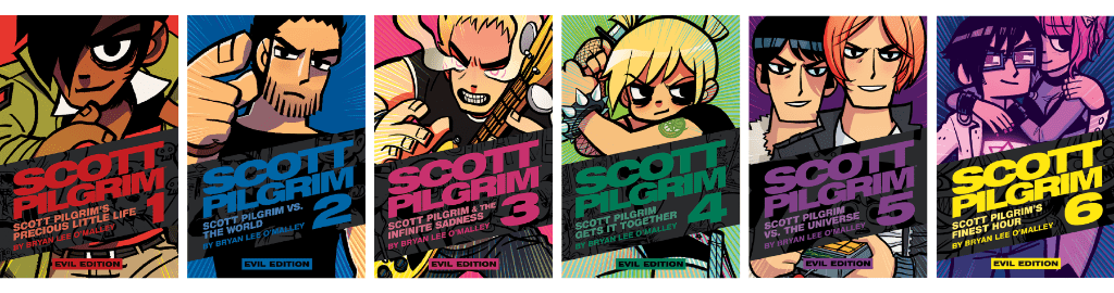 Scott Pilgrim, Volumes 1-6 Evil Ex Variants