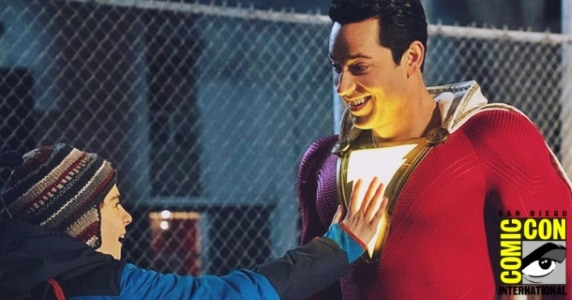 [SDCC 2018] Trailer: 'Shazam' Brings Your Childhood Dreams to Life