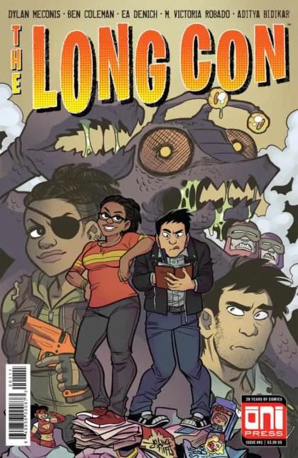 The Long Con #1 - Cover A