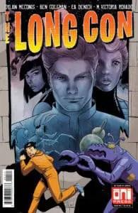 The Long Con #1 - Cover B