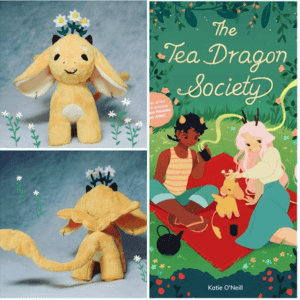 The Tea Dragon Society plushie