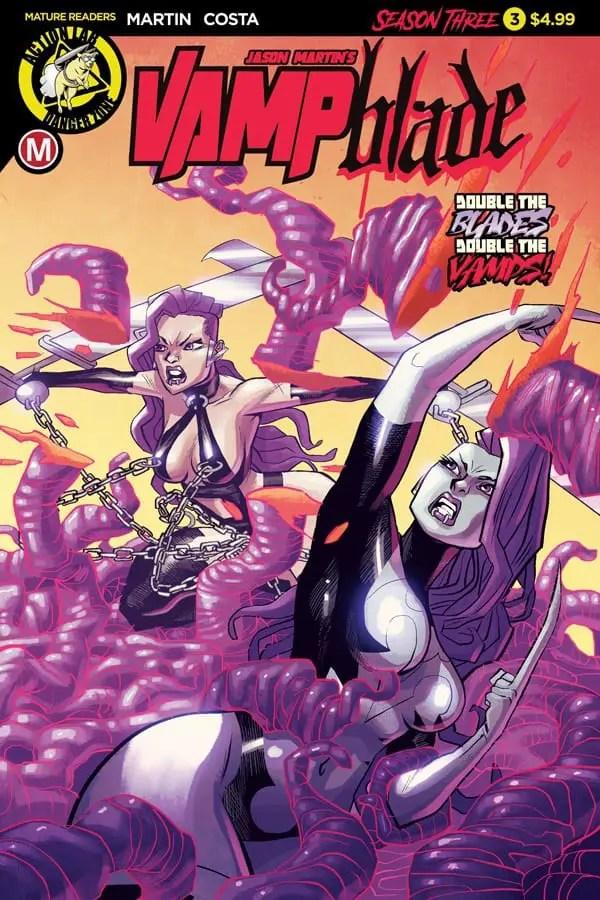 Vampblade Season 3 #3 - Cover A by Marcelo Costa