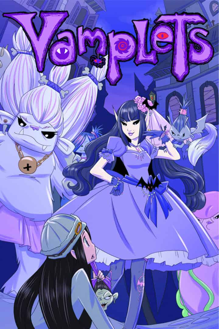 Vamplets Book 3 Cover