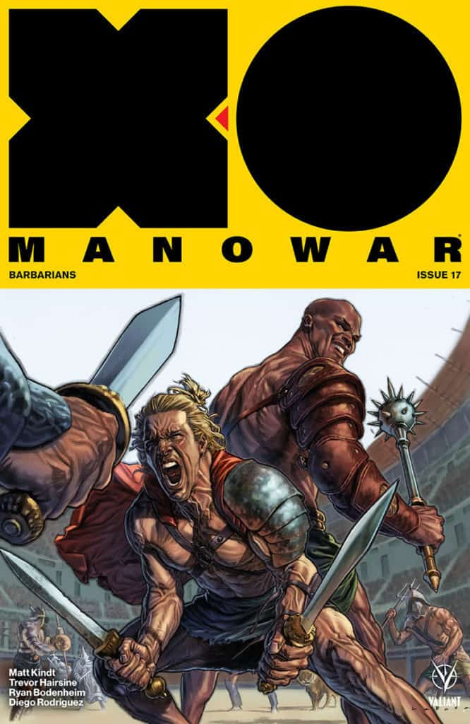 X-O MANOWAR #17 - Cover A by Lewis LaRosa
