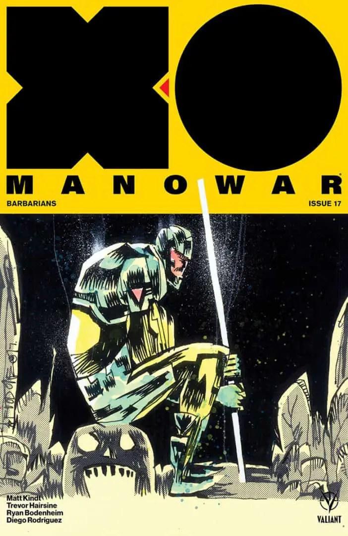 X-O MANOWAR #17 – Cover B by Jim Mahfood
