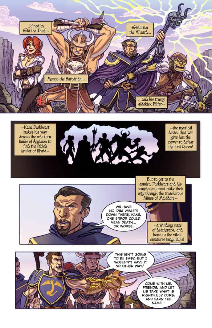 Double Jumpers Vol. 1 preview page 3
