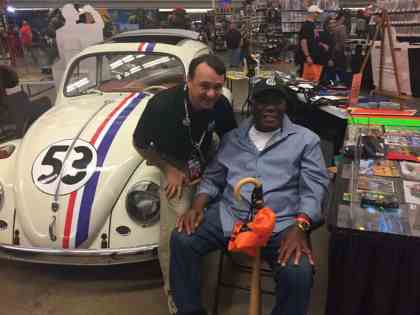 Jerry Milani with Manny Sanguillen