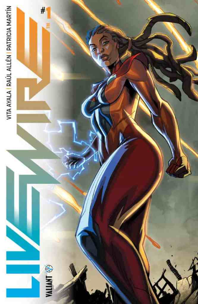 Livewire #1 - Main Cover by Khary Randolph