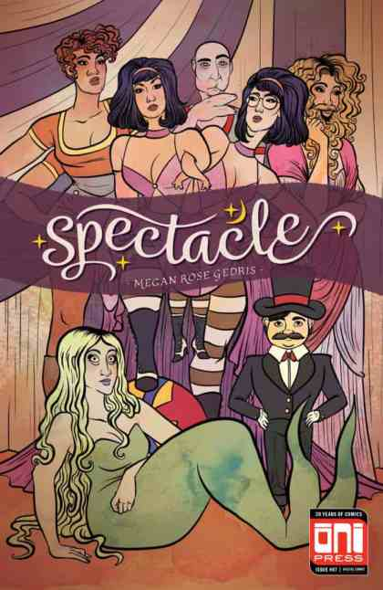 Spectacle #7 - Cover by Megan Rose Gedris