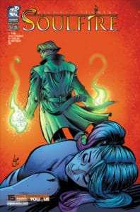 SOULFIRE Vol. 7 #5 - Cover A by Chahine Ladjouze