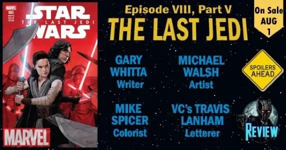 Star Wars The Last Jedi Adaptation #5