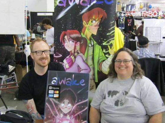 Brian Hess & Susan Beneville (Silicon Valley Comic Con 2017)