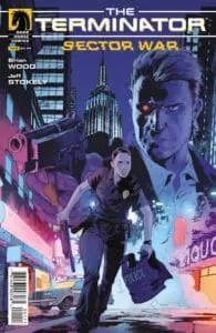 Terminator: Sector War #1 Main Cover by Robert Sammelin