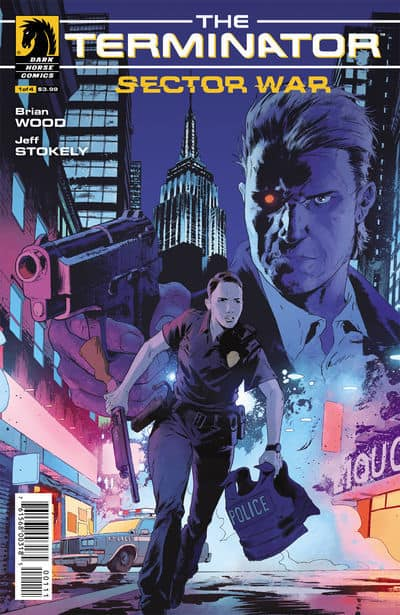 Terminator Sector War #1 Main Cover by